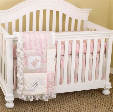 baby girl bedding sets for cribs heaven sent girl 3pc crib bedding set 396218741