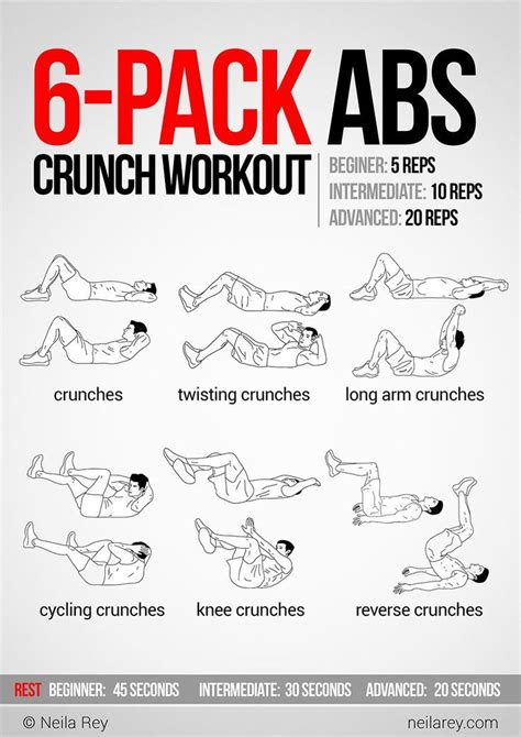 10 ab workouts for to helper you get six abs