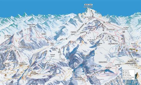 verbier map where to ski and snowboard nendaz