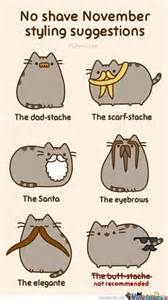 Pusheen Memes - november pusheen the cat by remilia meme center