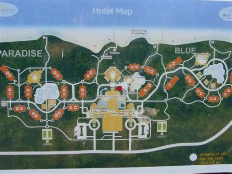 azul resort map resort map picture of memories paraiso resort
