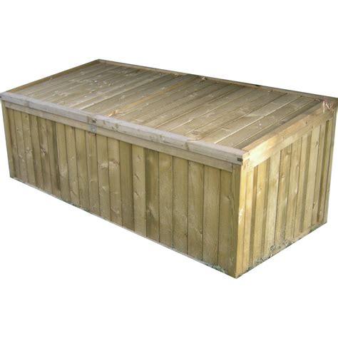 coffre bois jardin coffre de jardin en bois naterial 0 13 m 179 leroy merlin