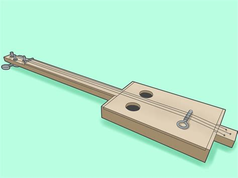 how to build a simple how to build a simple cigar box guitar 12 steps with