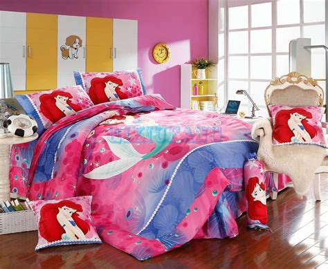 little mermaid twin comforter set disney little mermaid 7pcs twin full queen size comforter