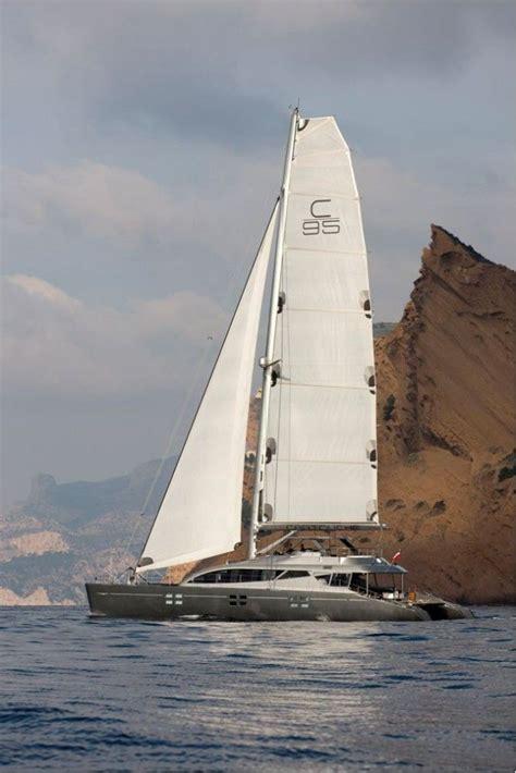 catamaran boat cost yacht cartouche a blue coast 95 catamaran sailing