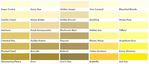 paint colors lowes valspar yellow swatches yellow swatches enchanting yellow swatch