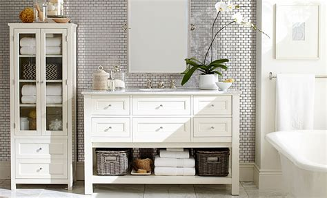 Pottery Barn Bathroom Ideas by 9 Clever Towel Storage Ideas For Your Bathroom Pottery Barn