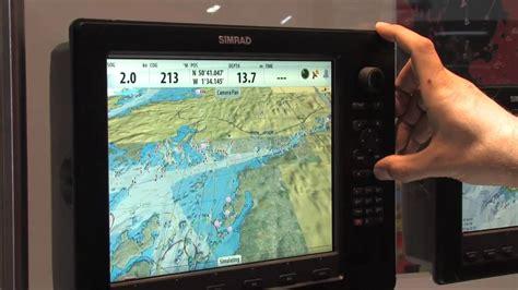 london boat show youtube simrad nse at london boat show 2010 youtube