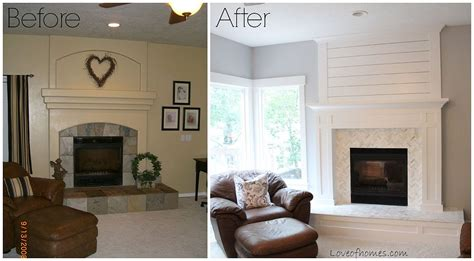 Design Tips For Small Home Offices Hometalk Fireplace Makeover Before And After