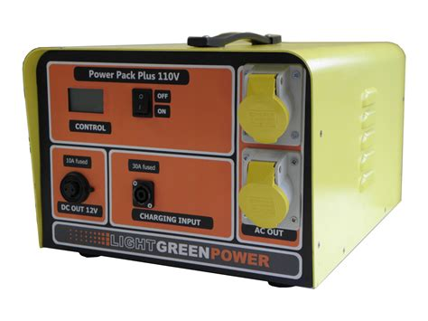 powerpack 3kva battery generator lightgreen power