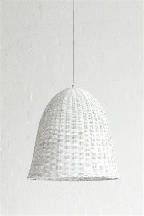 White Pendant Light Shade Large Rattan Pendant Light Shade White For The Back Deck Pinterest
