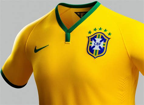 Jersey Brazil Home Ls 2014 brazil 2014 world cup home and away kits released footy headlines
