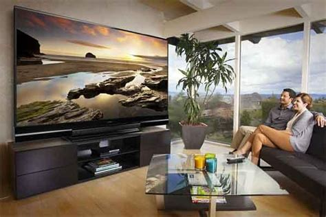 how big of tv for room large tv for well lit room sound vision
