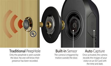 front door security light camera brinno digital phv mac peephole viewer front door security