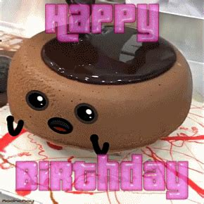 birthday cake chocolate gif  gifer  gavinrawield
