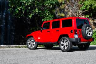Jeep Wrangler 2017 Jeep Wrangler Unlimited Reviews And Rating Motor Trend