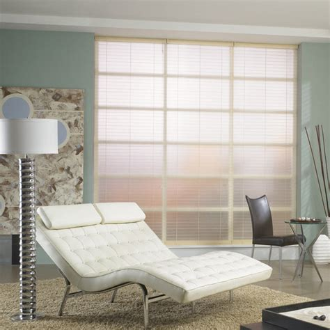Bali Diffusion Glass Acrylic Blinds bali diffusion 2 quot glass essence blinds contemporary window blinds other metro by