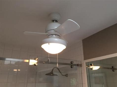 small ceiling fans for bathrooms buy best bathroom ceiling fan to ventilate humidity odors