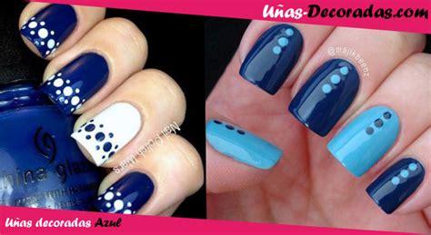 imagenes de uñas de acrilico color azul dise 241 os y modelos de u 241 as decoradas en color azul