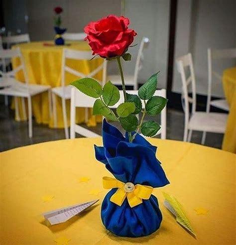 decoracion la bella y la bestia centros de mesa de la bella y la bestia imagui