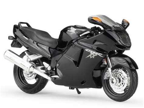 Honda Cbr 1100xx Welly Diecast Motorcycle Model 1 18 Collector S M 1 18 scale black maisto diecast honda cbr1100xx model