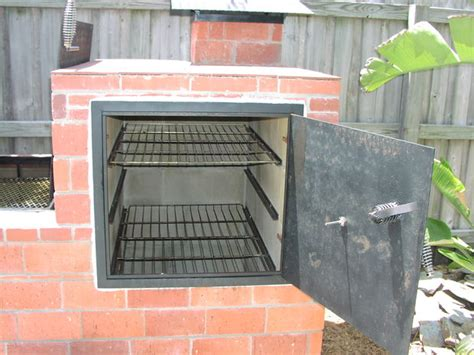 backyard smoker plans brick barbecue 21 steps with pictures