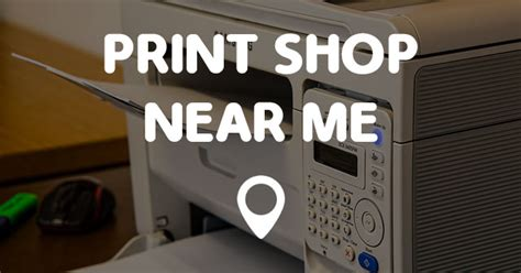 Places I Can Print Documents Near Me