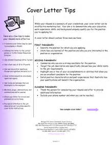 cover letter exles of cover letters for resume
