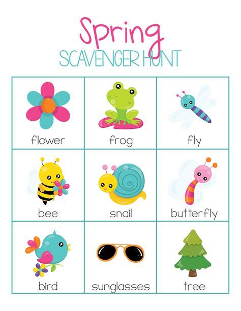 kindergarten activities nature free spring activities pack for preschool or kindergarten