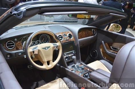 2015 bentley continental interior 2015 bentley gt convertible interior view at 2015 geneva