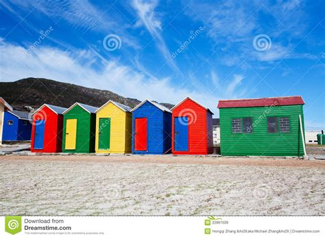 Colorful Cabins by Colorful Cottages Royalty Free Stock Images Image 22861509