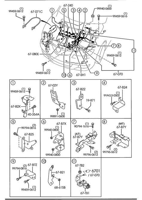 2007 mazda 3 transmission wiring diagram wiring diagrams