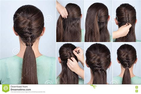step to step guide on french roll french roll hairstyle step bye step french roll hairstyle