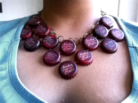 nuka cola necklace by appleofecstacy on deviantart