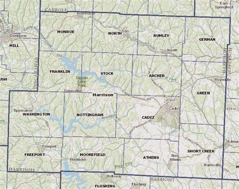 harrison county map utica shale utica shale in harrison county ohio a