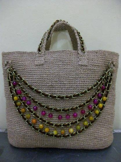 crochet jute bag pattern 377 best images about bags crochet knit on pinterest