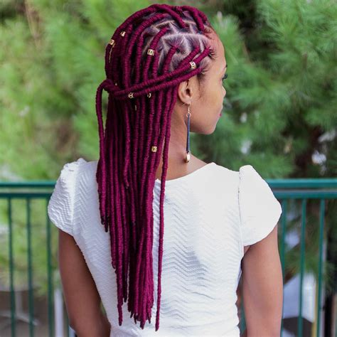 can you start off yarn braids into locs 20 fabulous funky ways to pull off faux locs