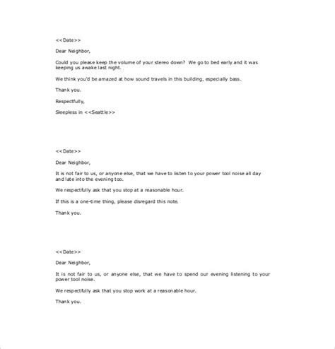 noise complaint letter template from landlord noise complaint letter tired of the at your apartment or