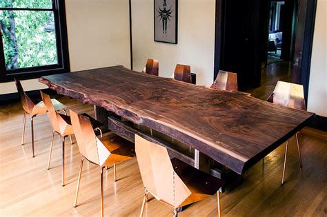How To Make A Dining Room Chair by Claro Walnut Dining Table