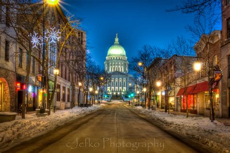 madison wi cjefko 365 wisconsin state capitol from state street
