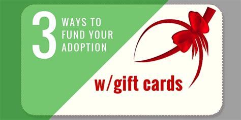 Fundraiser Gift Cards - adoption fundraising ideas adoption fundraisers fund your adoption