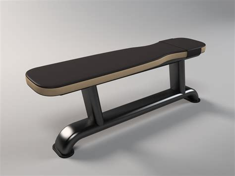 3d Model Bench Bodybuilding