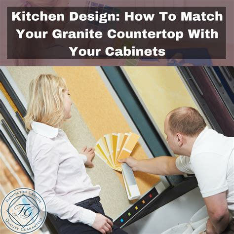 should your kitchen island match your cabinets kitchen design how to match your granite countertop with