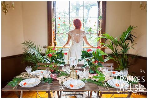 tropical themed wedding inspiration wedding photographer