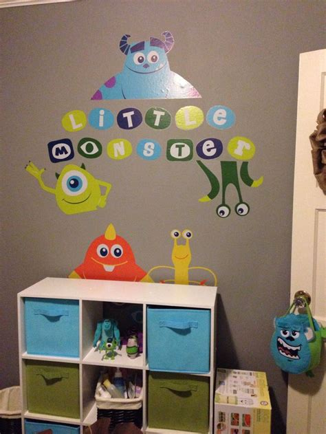 monster inc baby bedding monsters inc nursery boys bedroom pinterest storage