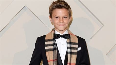 romeo beckham speaking romeo beckham just got the most amazing birthday present