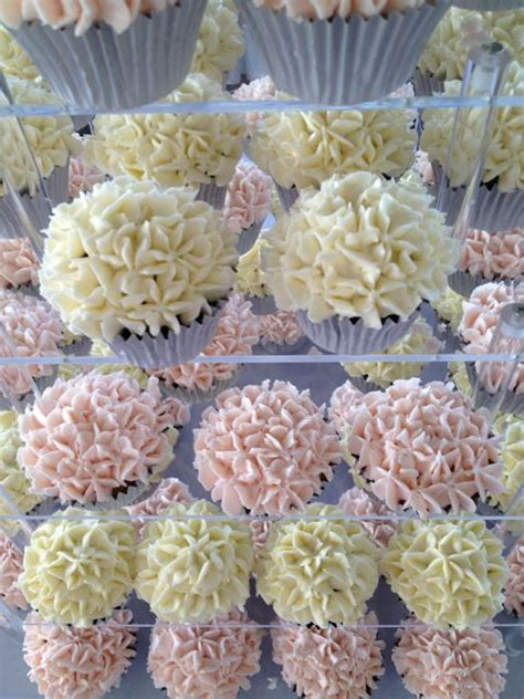 easy cupcake decorating ideas for bridal shower pale pink white wedding tower cupcake ideas for you