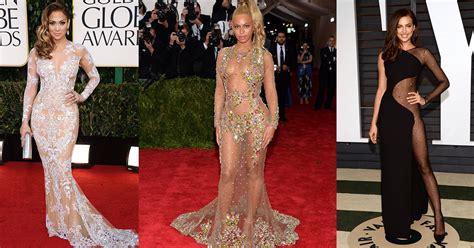 imagenes de vestidos de novia transparentes famosas ousadas com vestidos transparentes like3za