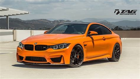 Bmw Orange by Tag Motorsports Bmw M4 Orange