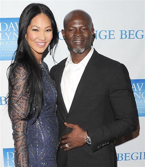 Kimora Simmons New Boyfriend Dijimon Hounsou 3 by Kimora Simmons Djimon Hounsou Split Ny Daily News